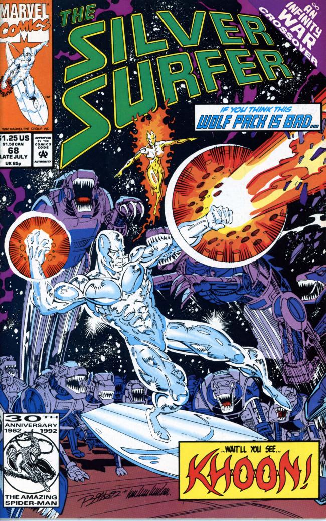 Couverture de Silver Surfer Vol.3 (Marvel comics - 1987) -68- Lost