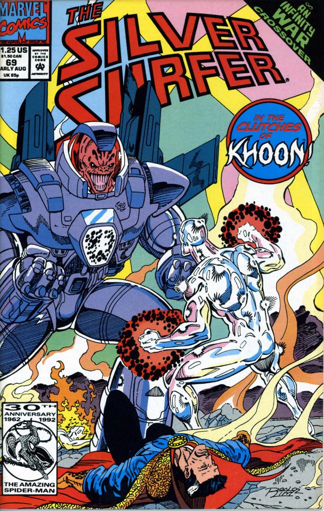 Couverture de Silver Surfer Vol.3 (Marvel comics - 1987) -69- The explorer