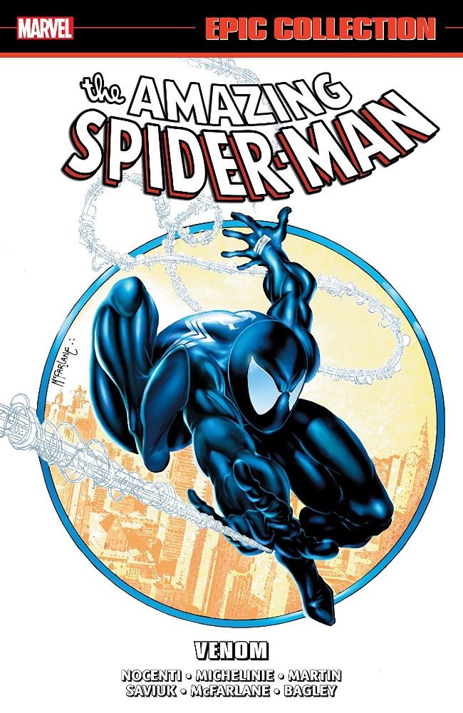 Couverture de Amazing Spider-Man Epic Collection (The) (2013) -INT18- Venom