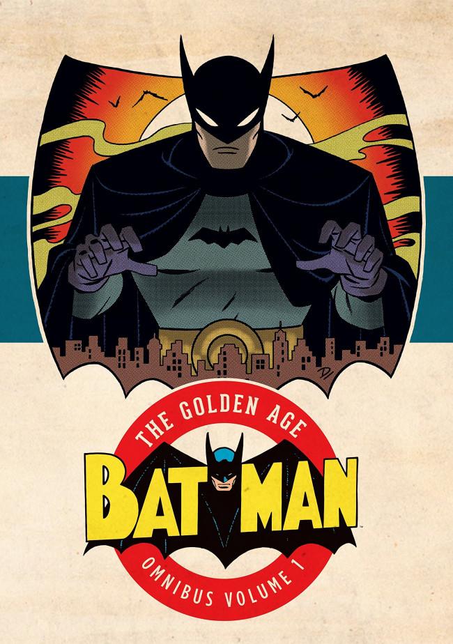 Couverture de Batman: The Golden Age Omnibus (2015) -INT01a- Batman: The Golden Age Omnibus Vol. 1