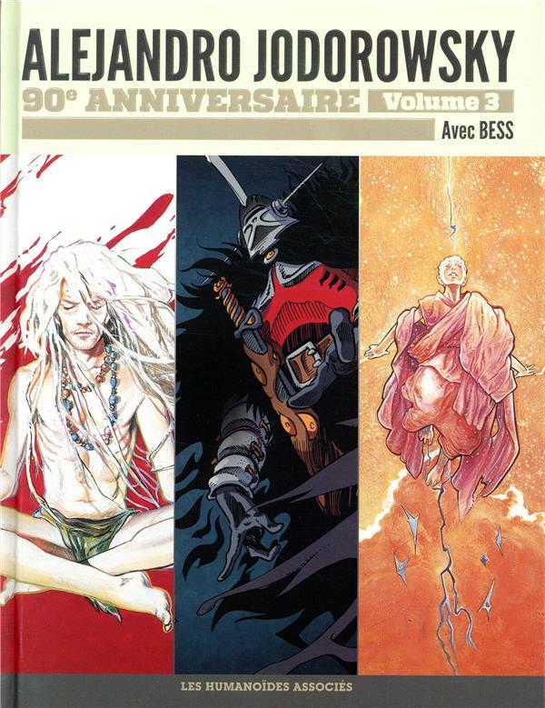 Couverture de Alejandro Jodorowsky 90e anniversaire -3- Volume 3
