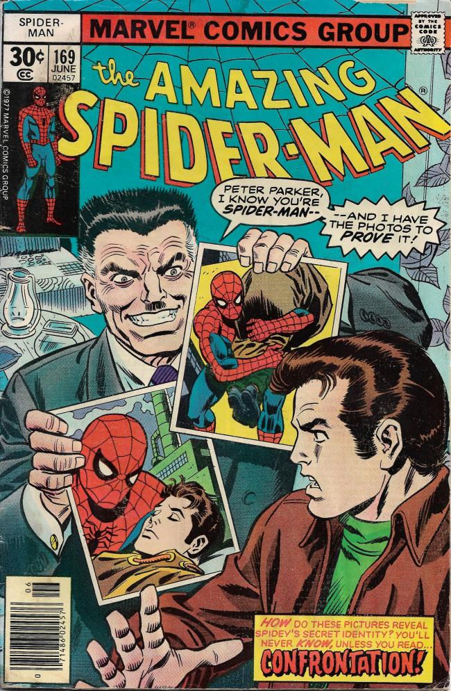 Couverture de The amazing Spider-Man Vol.1 (Marvel comics - 1963) -169- Confrontation
