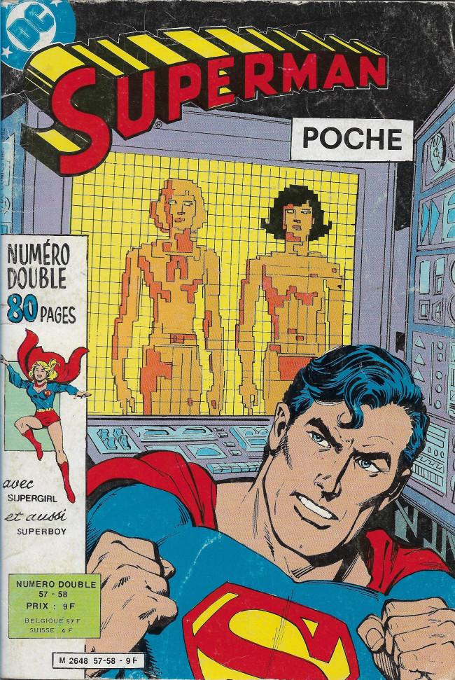 Couverture de Superman (Poche) (Sagédition) -5758- Les derniers jours de Loïs et Lana