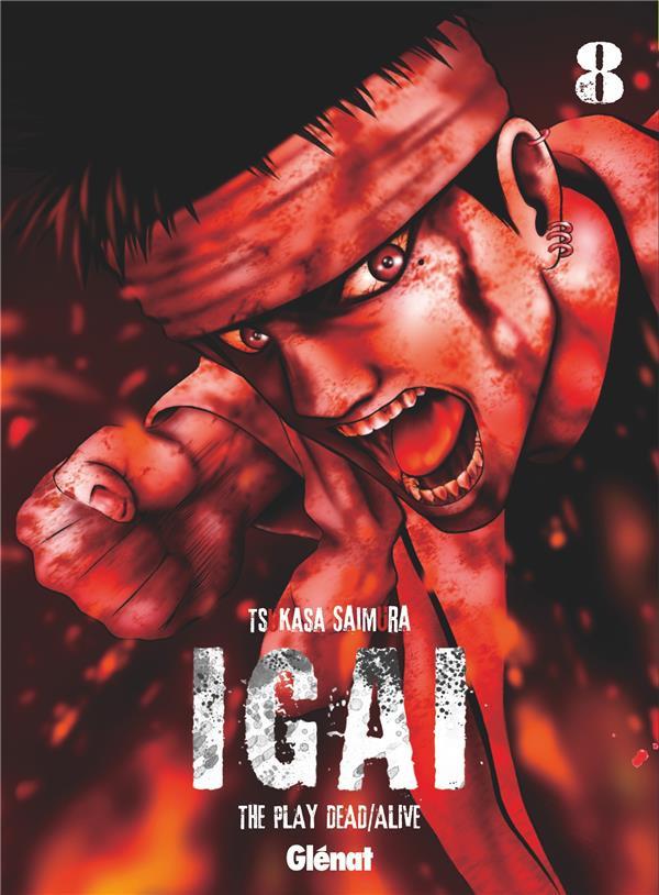 Couverture de Igai : The Play Dead/Alive -8- Tome 8