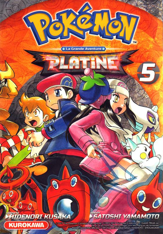 Couverture de Pokémon Diamant & Perle/Platine -5- Tome 5