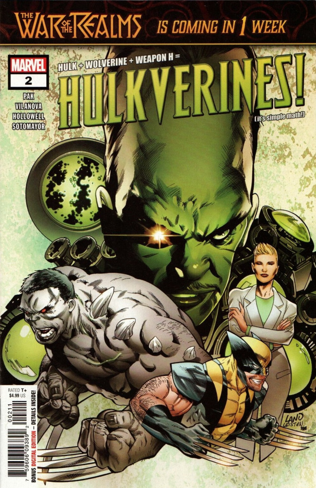 Couverture de Hulkverines! (2019) -2- Hulkverines! - Part Two of Three
