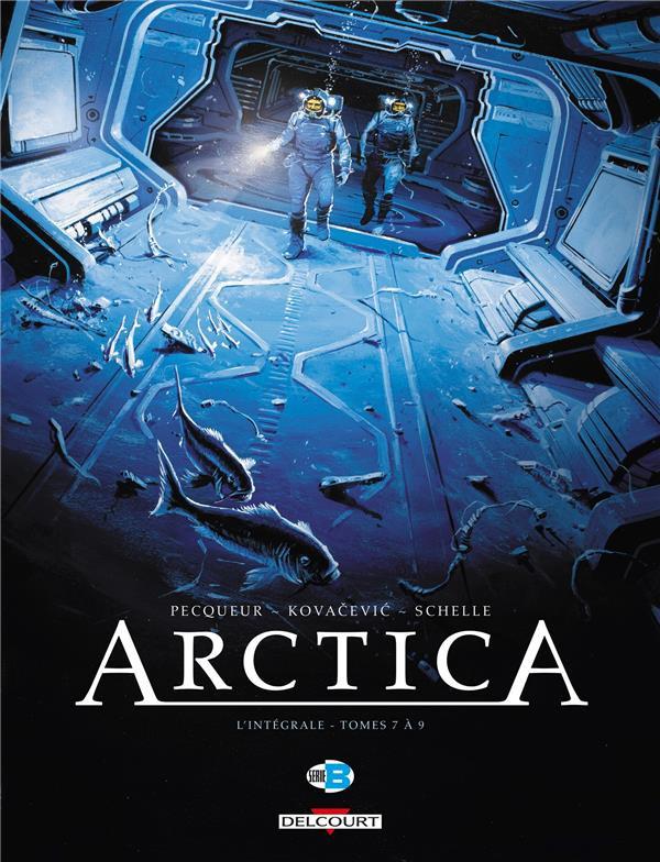 Couverture de Arctica -INT03- L'intégrale - Tomes 7 à 9