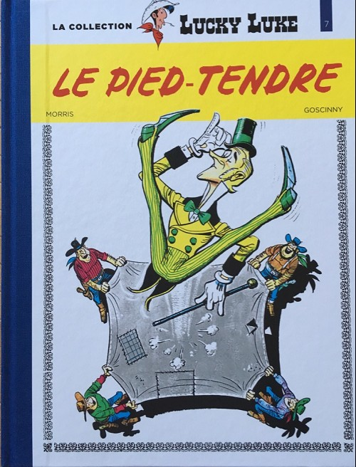 Couverture de Lucky Luke - La collection (Hachette 2018) -733- Le pied-tendre