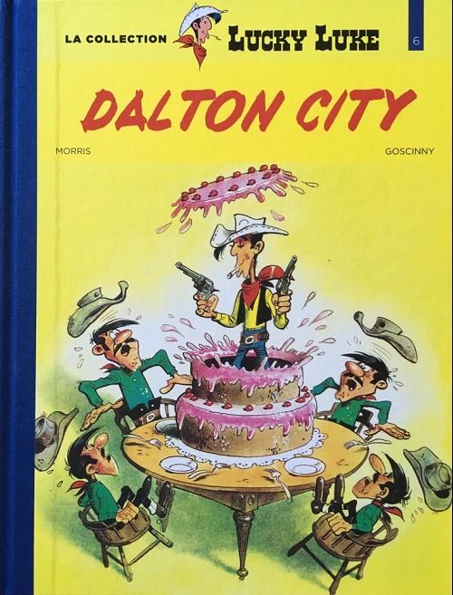 Couverture de Lucky Luke - La collection (Hachette 2018) -346- Dalton city