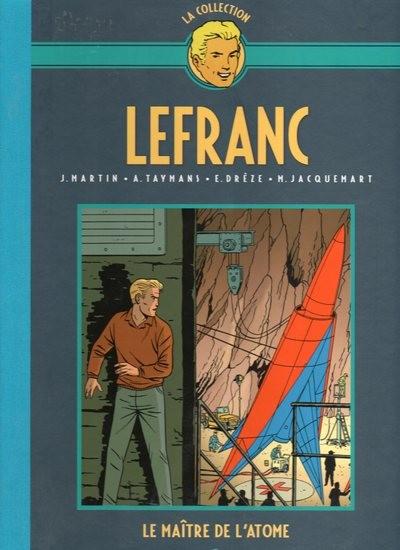 Couverture de Lefranc - La Collection (Hachette) -17- Le maître de l'atome