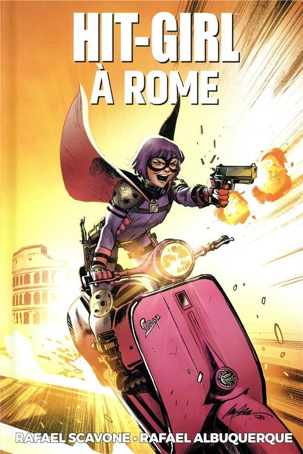Couverture de Hit-Girl (2e série - 2018) -3- Hit-Girl à Rome