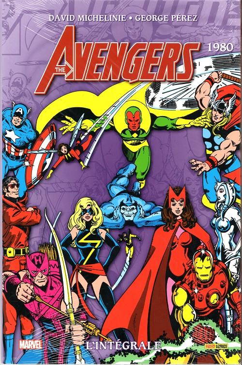 Couverture de Avengers (The) (L'intégrale) -17- L'intégrale 1980