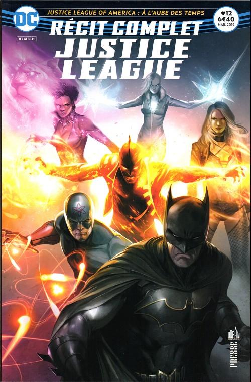 Couverture de Justice League - Récit Complet (DC Presse) -12- Justice League of America : À l'aube des temps