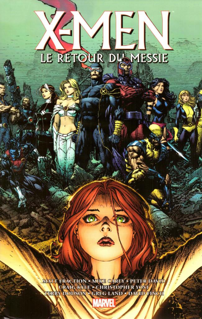 Couverture de X-Men - Trilogie du Messie -INT2- Le retour du Messie