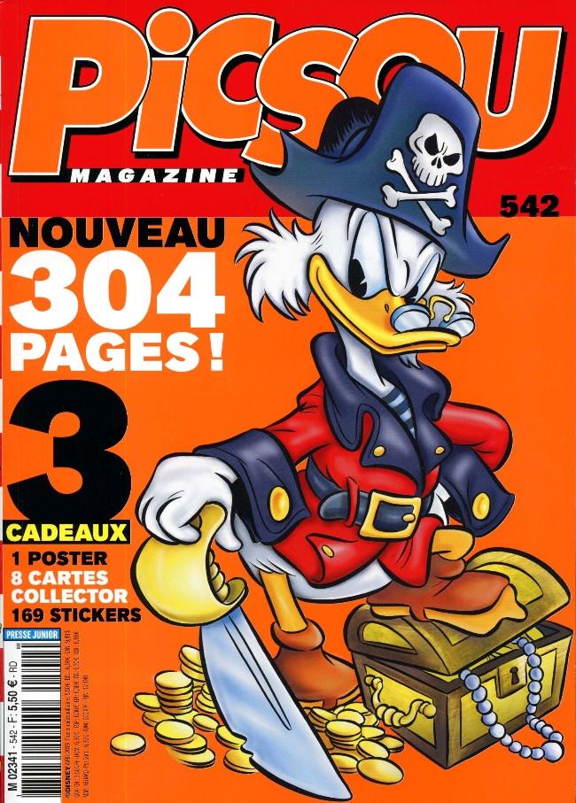 Couverture de Picsou Magazine -542- Picsou Magazine n°542