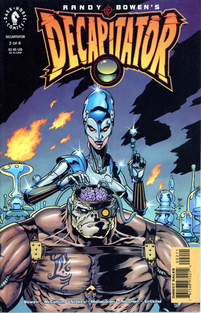 Couverture de Randy Bowen's Decapitator -2- Issue 2