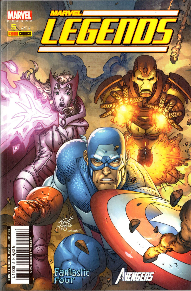 Couverture de Marvel Legends -5- Retour de l'enfer (2)