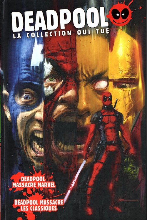 Couverture de Deadpool - la collection qui tue (hachette) -164- Deadpool massacre Marvel / Deadpool massacre les classiques