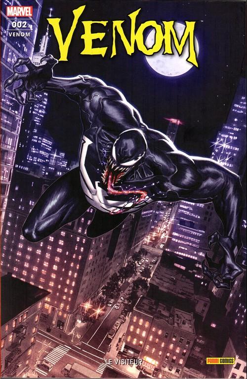 Couverture de Venom (2e série)  -2- Le visiteur