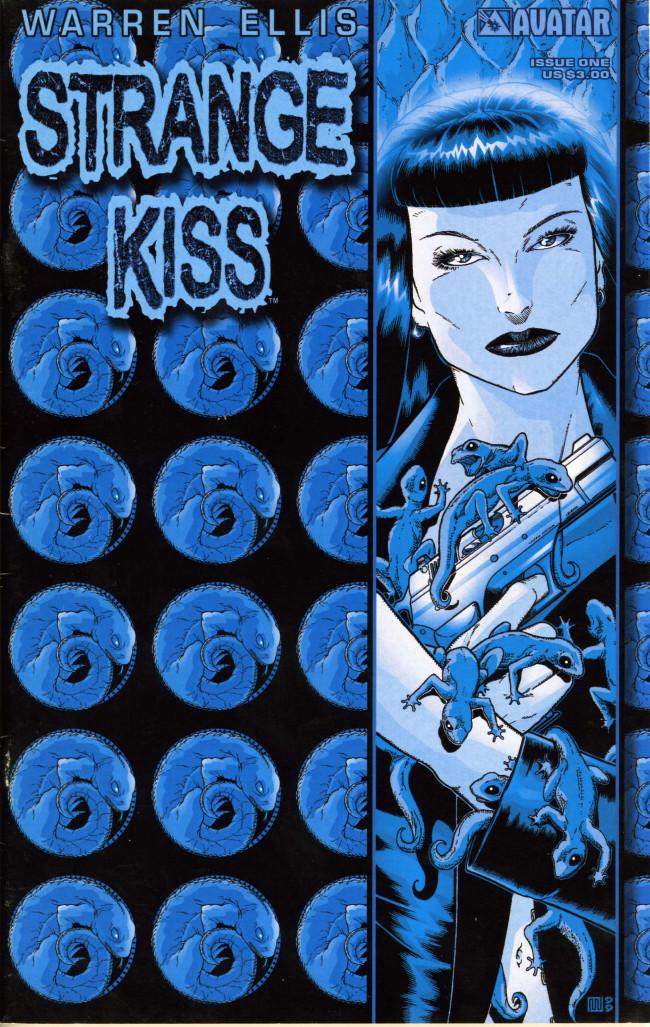 Couverture de Warren Ellis' Strange Kiss -1- Issue 1