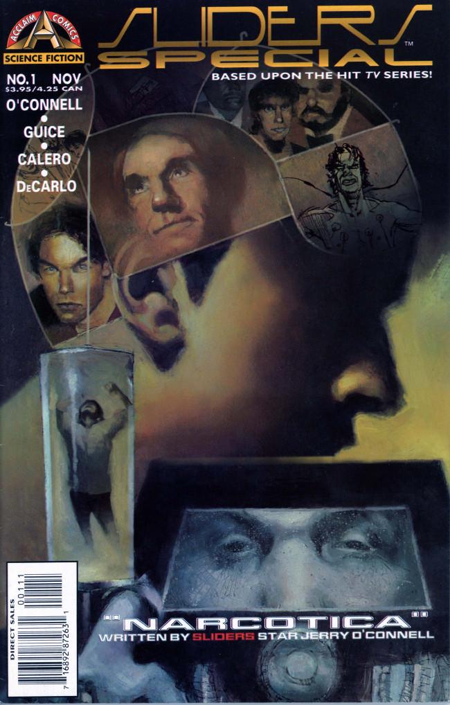 Couverture de Sliders Special (1996) -1- Narcotica