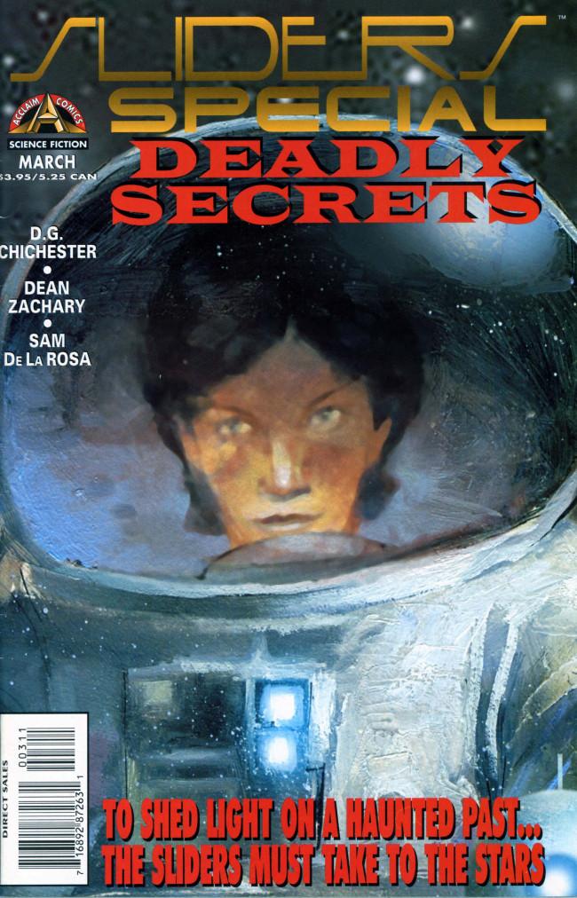 Couverture de Sliders Special (1996) -3- Deadly Secrets