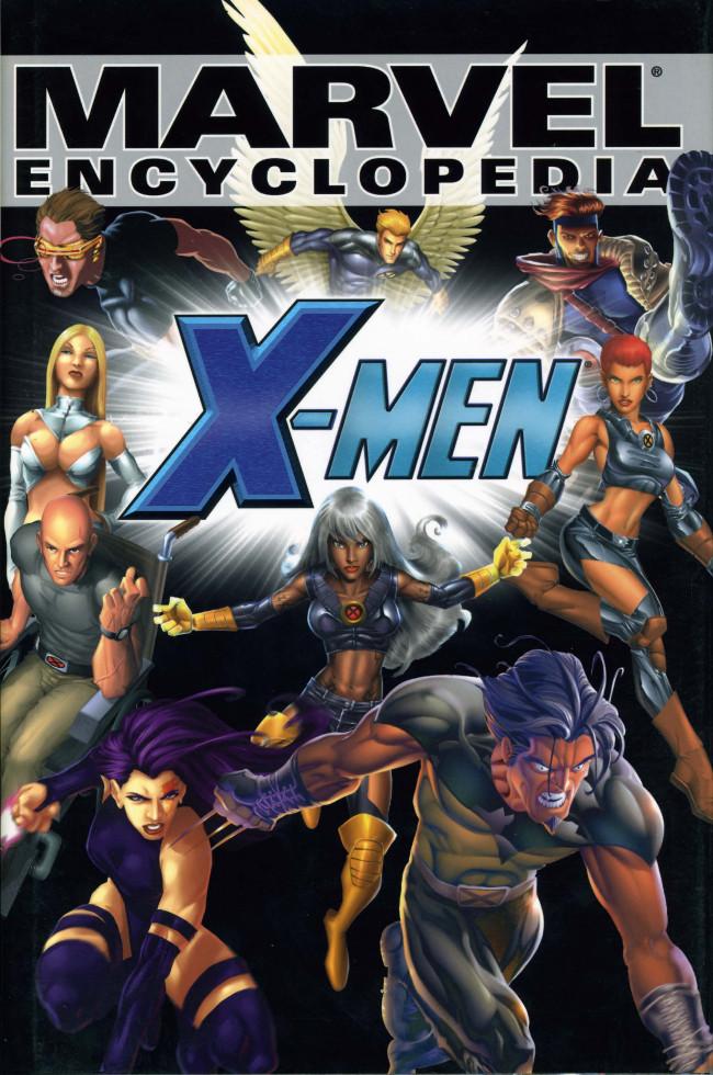 Couverture de Marvel Encyclopedia -2- X-Men