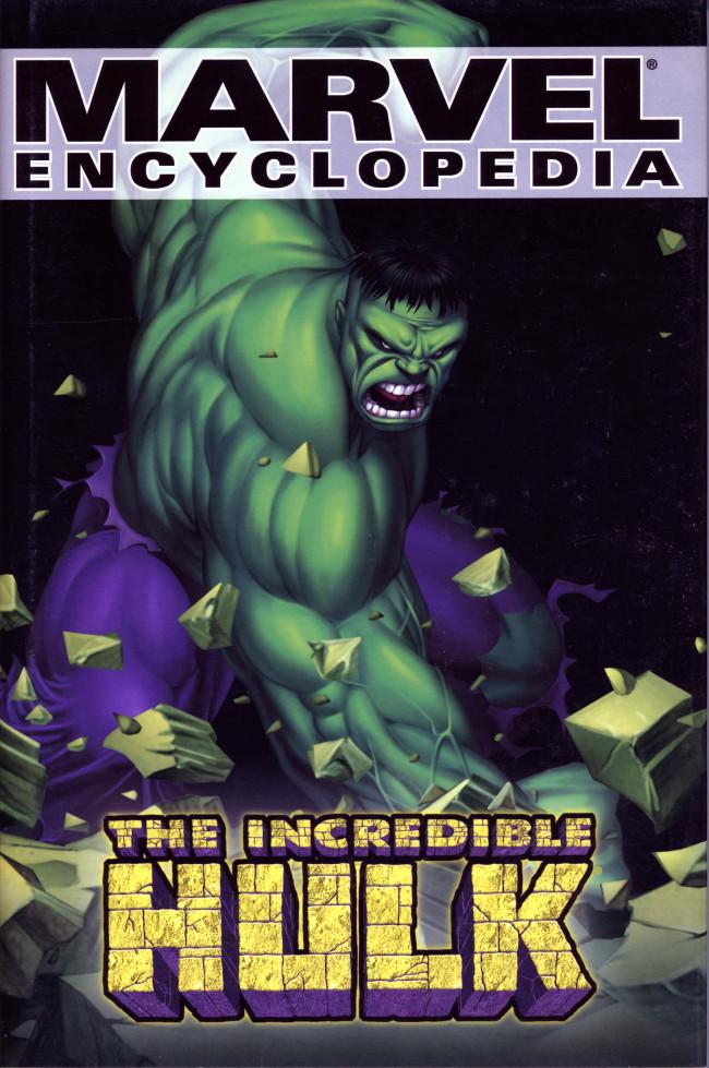 Couverture de Marvel Encyclopedia -3- The Hulk