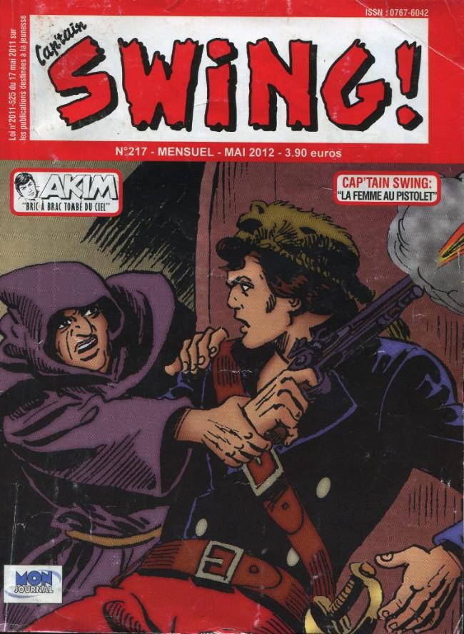 Couverture de Capt'ain Swing! (2e série - Mon Journal) -217-