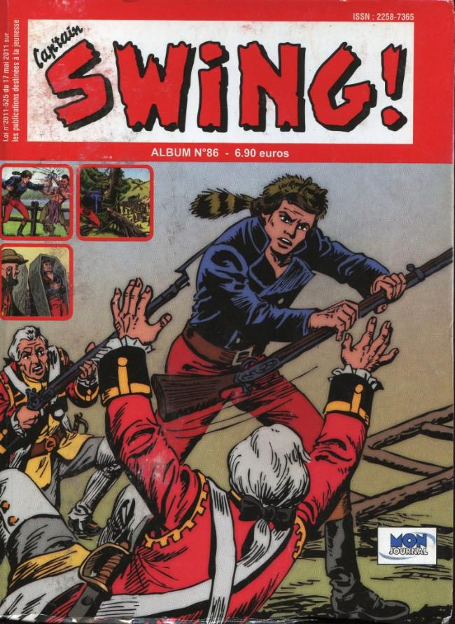 Couverture de Capt'ain Swing! (2e série - Mon Journal) -Rec86- Album N°86 (du n°258 au n°260)
