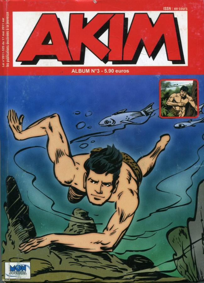 Couverture de Akim (3e série) -Rec03- Album n°3 (du n°6 au n°7)
