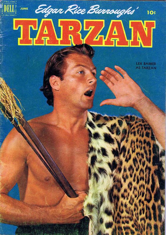 Couverture de Tarzan (Dell - 1948) -33- (sans titre)