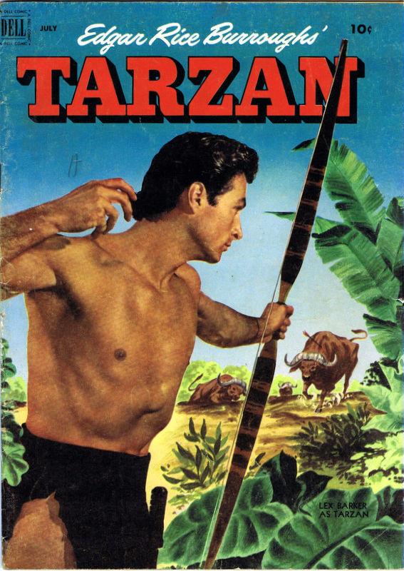 Couverture de Tarzan (Dell - 1948) -34- (sans titre)