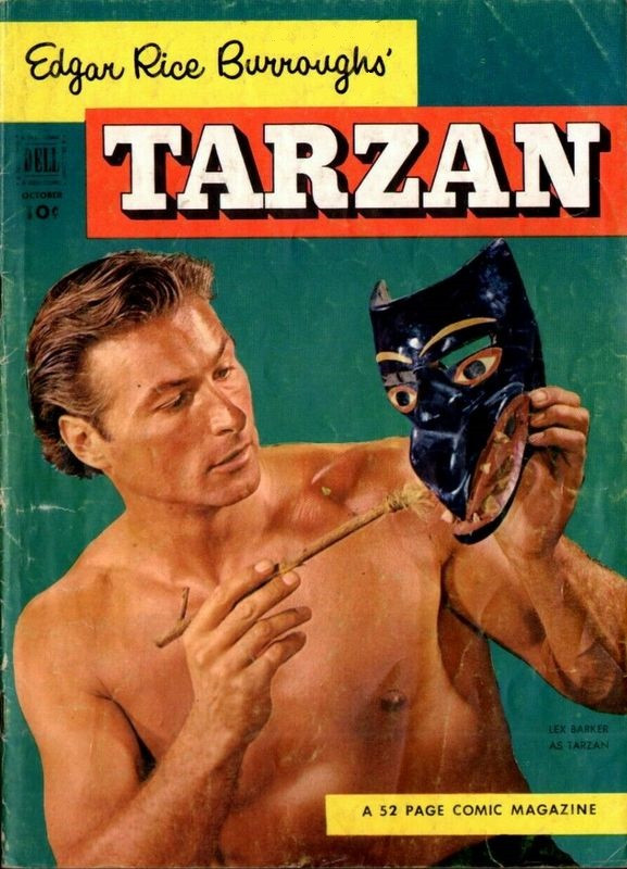 Couverture de Tarzan (Dell - 1948) -37- (sans titre)