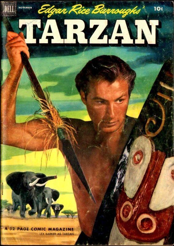 Couverture de Tarzan (Dell - 1948) -38- (sans titre)