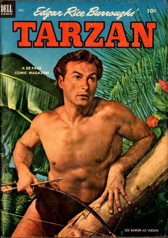 Couverture de Tarzan (Dell - 1948) -39- (sans titre)