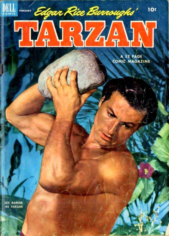 Couverture de Tarzan (Dell - 1948) -41- (sans titre)