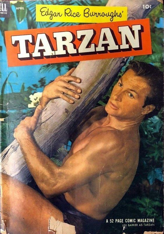 Couverture de Tarzan (Dell - 1948) -43- (sans titre)