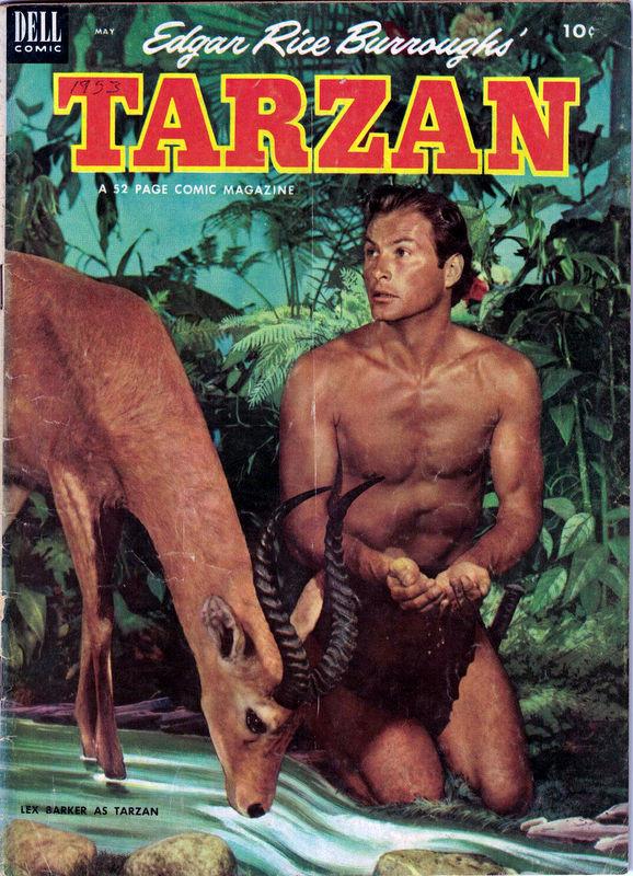 Couverture de Tarzan (Dell - 1948) -44- (sans titre)