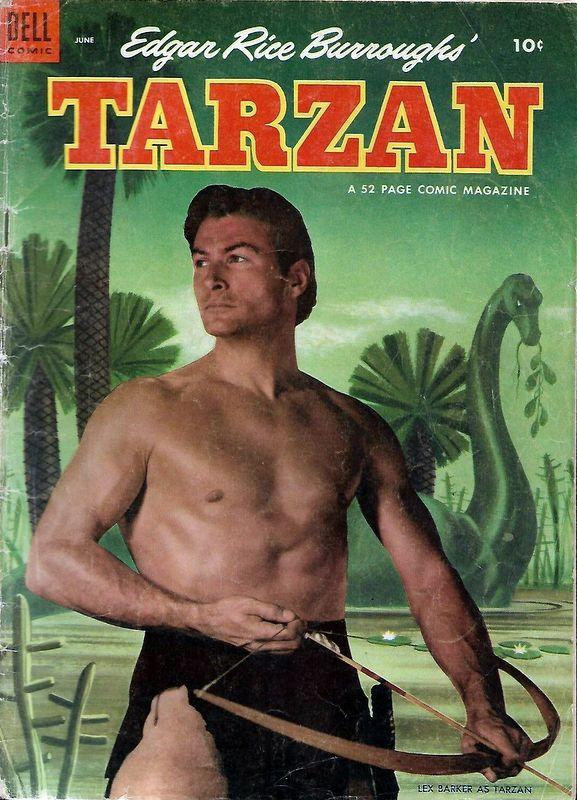Couverture de Tarzan (Dell - 1948) -45- (sans titre)