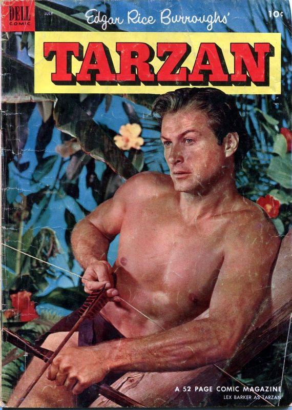 Couverture de Tarzan (Dell - 1948) -46- (sans titre)