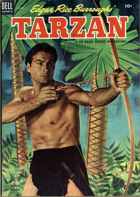 Couverture de Tarzan (Dell - 1948) -47- (sans titre)