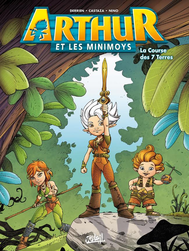 Couverture de Arthur et les Minimoys (2ème Série) -1- La Course des 7 Terres