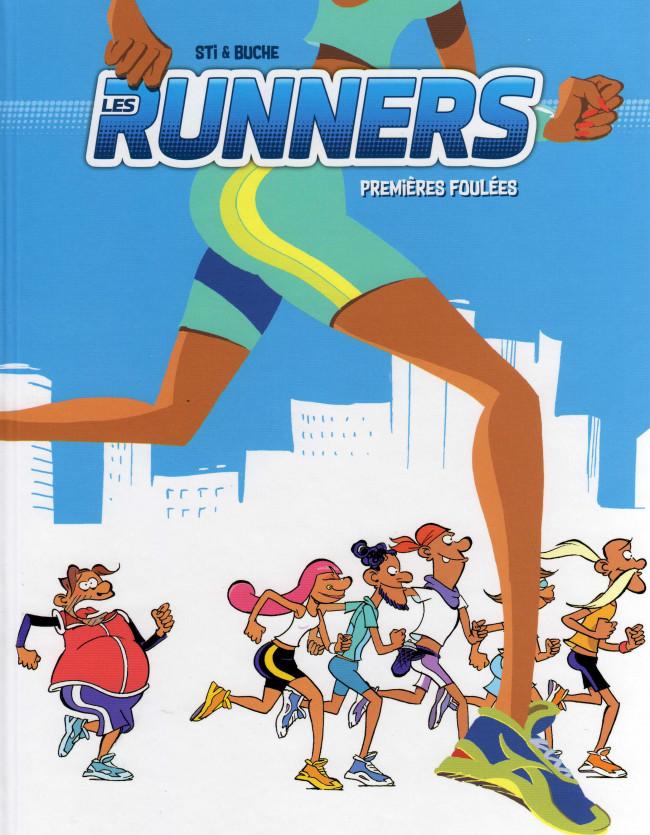 Couverture de Runners (les) -1- Premières foulées