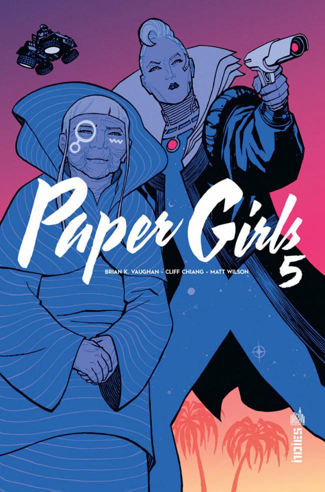 Couverture de Paper Girls -5- Tome 5