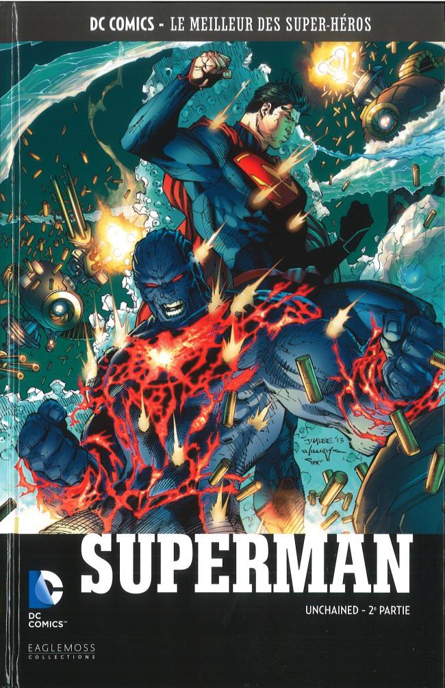 Couverture de DC Comics - Le Meilleur des Super-Héros -94- Superman - Unchained - 2e partie