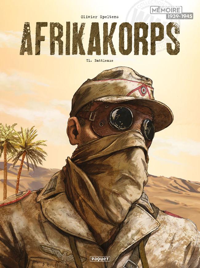 Couverture de Afrikakorps -1- Battleaxe