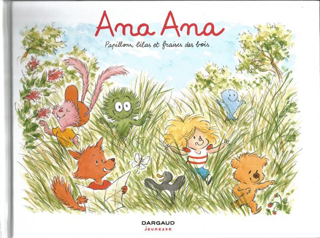 Couverture de Ana Ana -13- Papillons, lilas et fraises des bois
