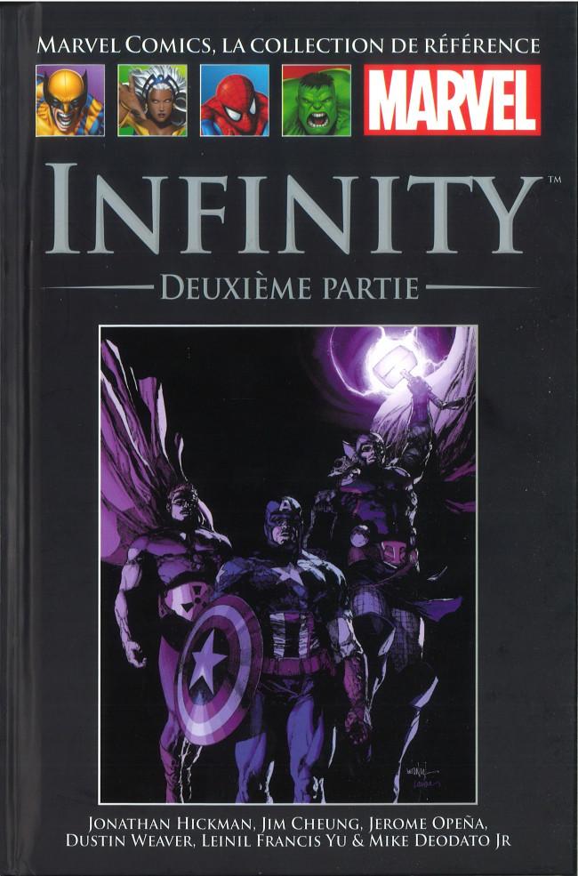 Couverture de Marvel Comics - La collection (Hachette) -13397- Infinty - Deuxième Partie