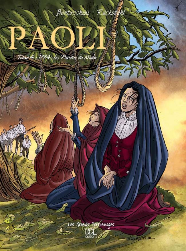 Couverture de Paoli -4- Les Pendus du Niolu